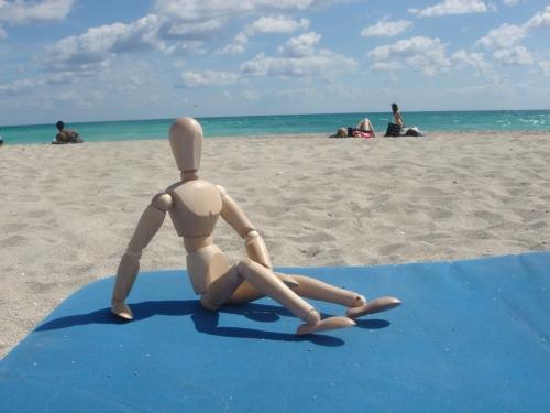 South Beach, swimsuit optional