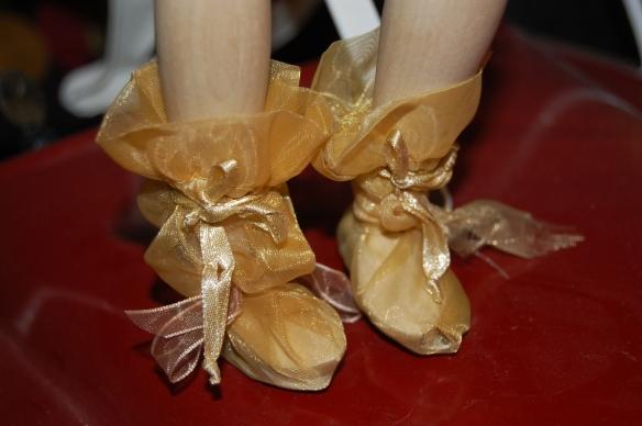 Magic Gold Shoes