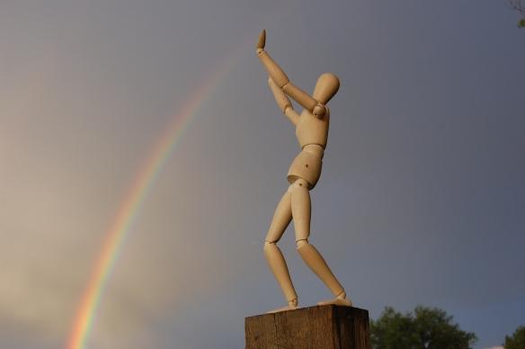 Wishing on a rainbow