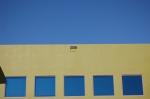 blue-green sky