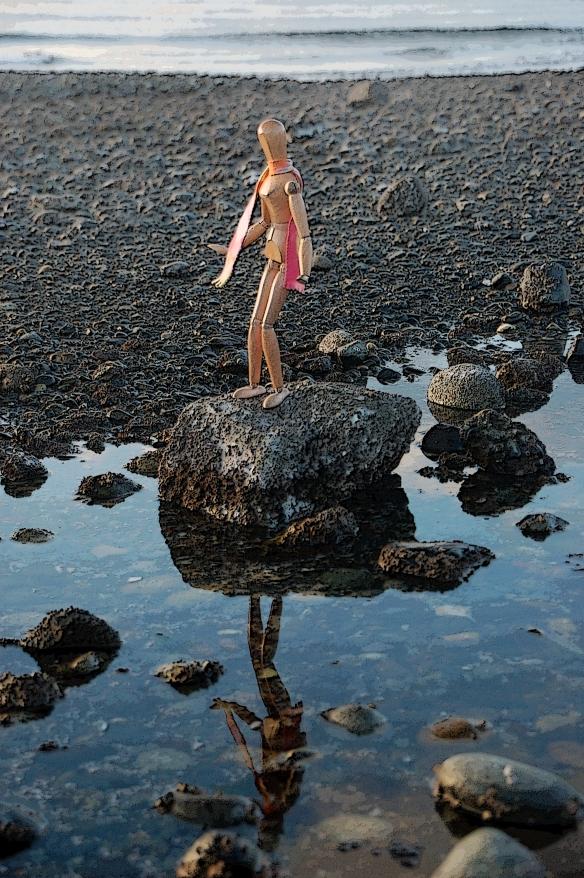 My soul showed up at low tide