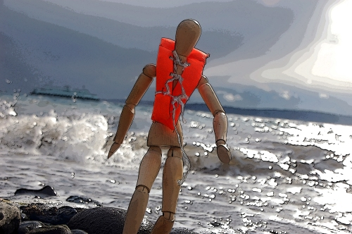 Stormy ferry survivor