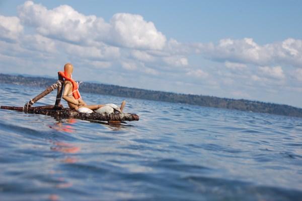 Enjoy being afloat